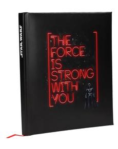 Libreta de Darth Vader Star Wars: Episodio IV con luz y sonido