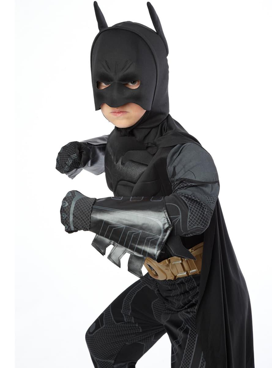 costume de batman the dark knight rises haut de gamme pour enfant acheter chez funidelia au. Black Bedroom Furniture Sets. Home Design Ideas