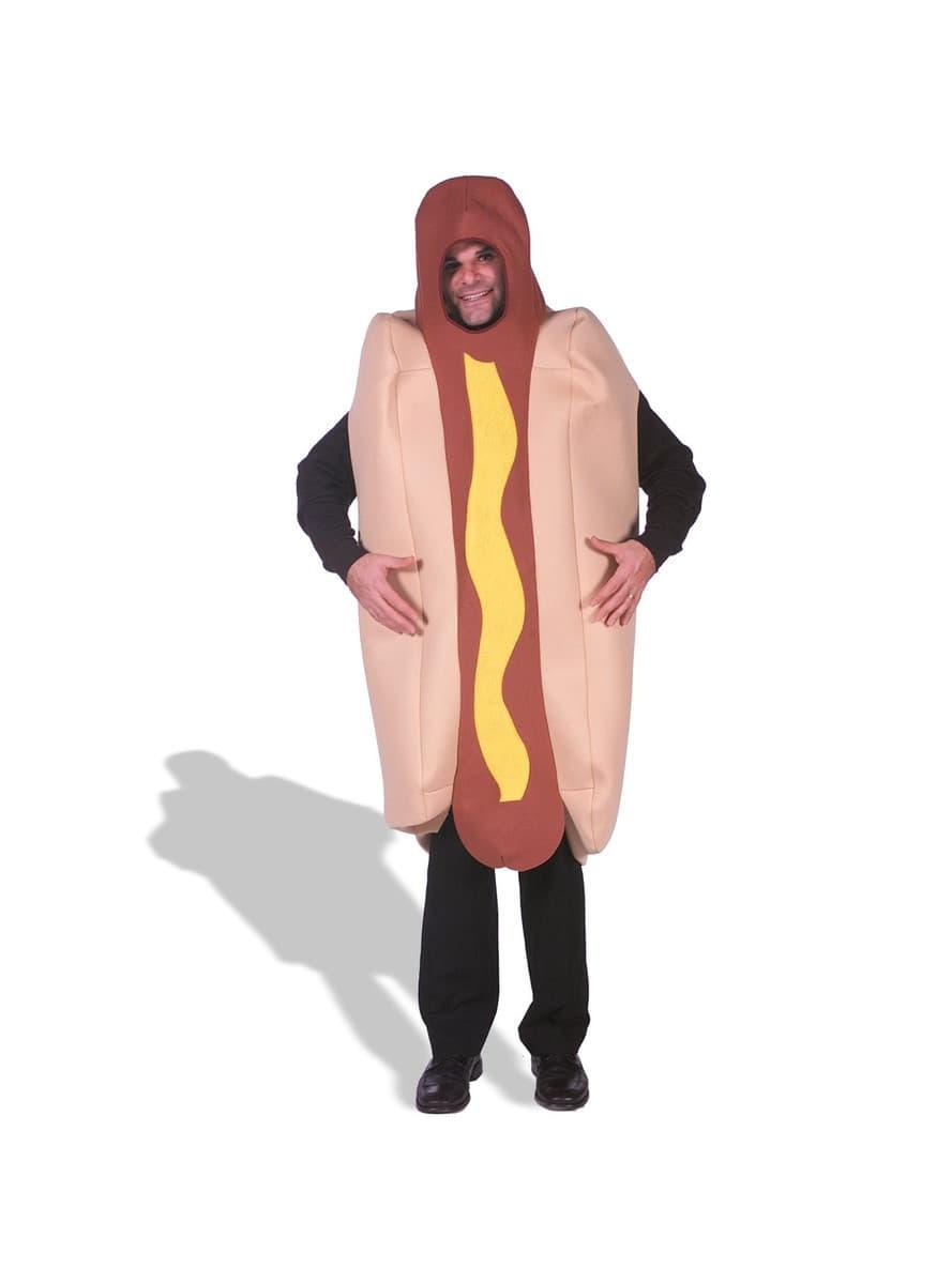 costume de hotdog haut de gamme funidelia. Black Bedroom Furniture Sets. Home Design Ideas
