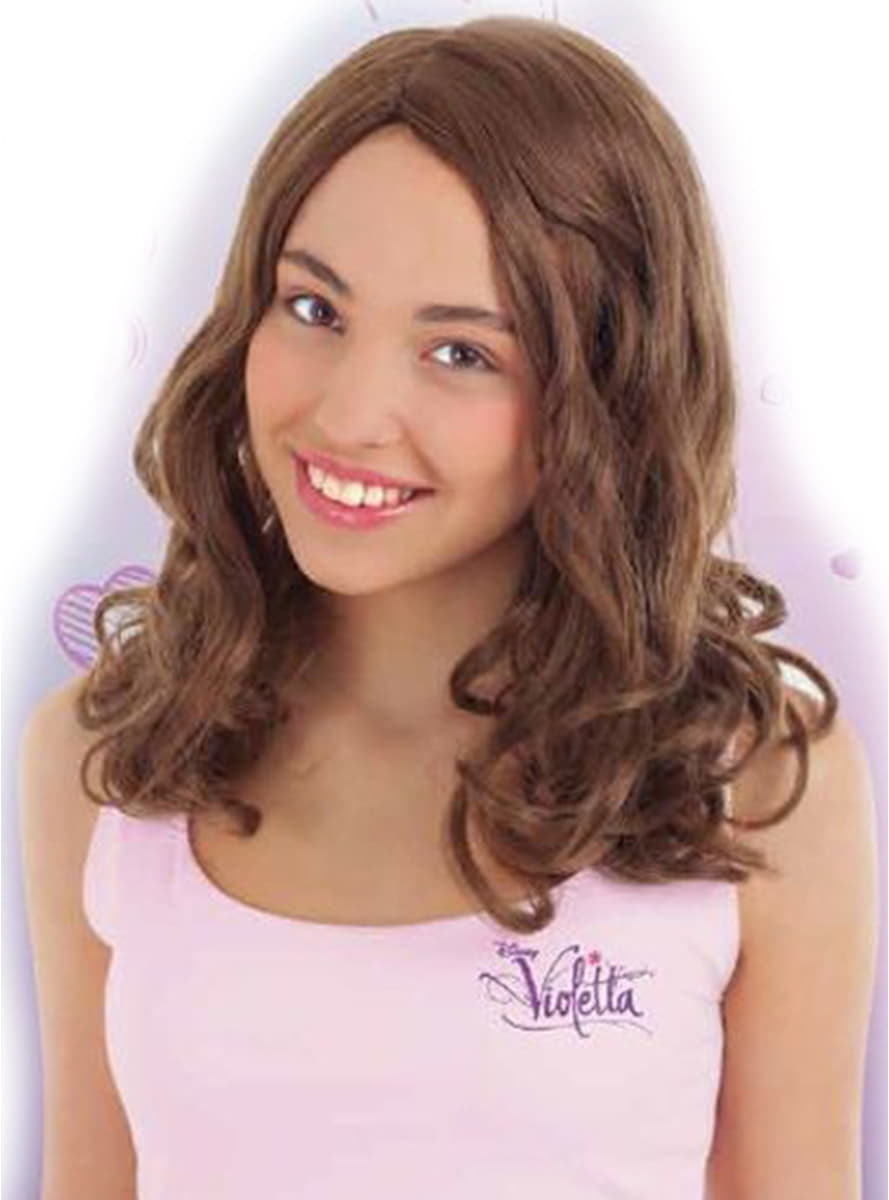 Perruque violetta pour fille acheter en ligne sur funidelia - Jeux de violetta gratuit pour fille ...