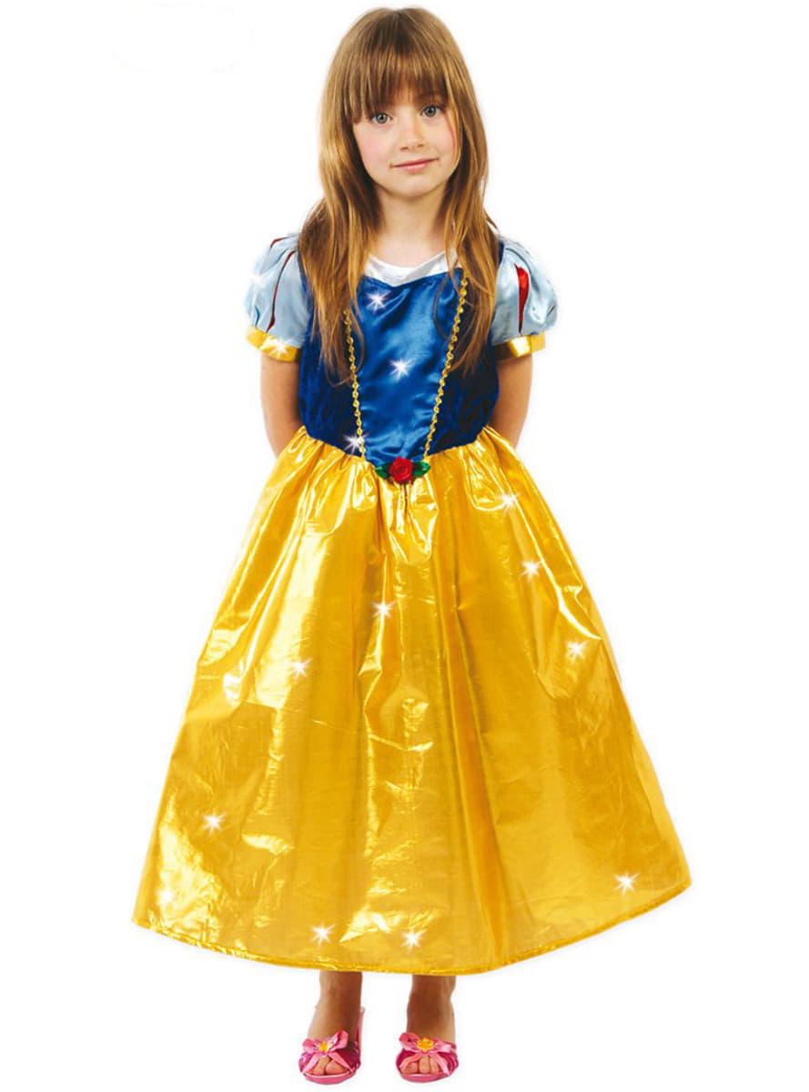 D guisement de princesse des neiges pour fille acheter - Deguisement princesse des neiges ...