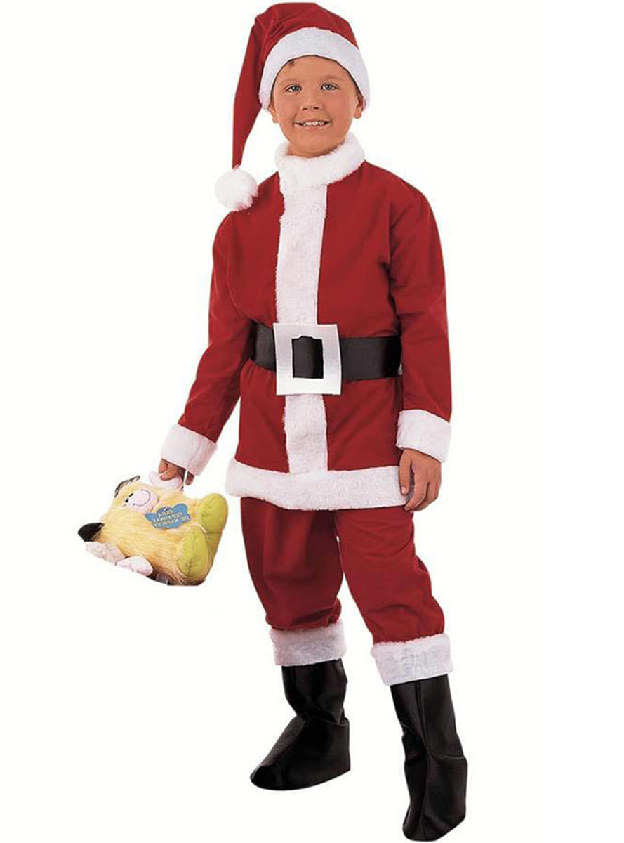 Disfraz de papa noel ni o comprar online - Disfraz papa noel nino ...