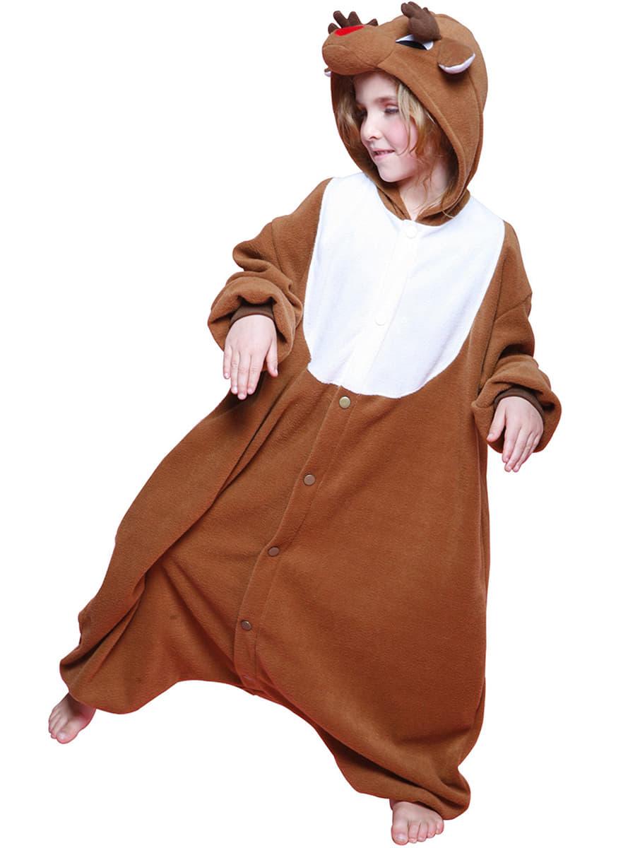 disfraz de reno de pap noel bcozy onesie infantil