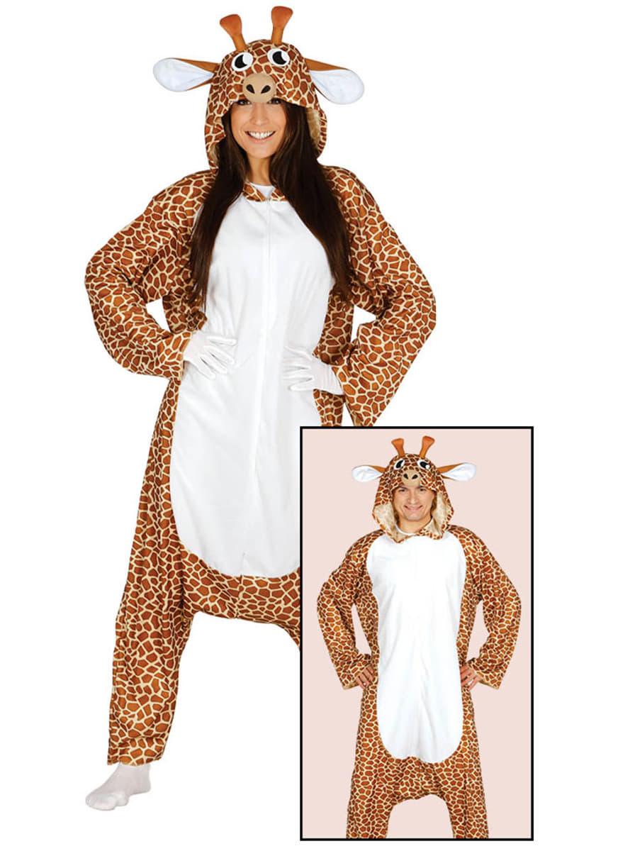 giraffen onesie kost m f r damen. Black Bedroom Furniture Sets. Home Design Ideas