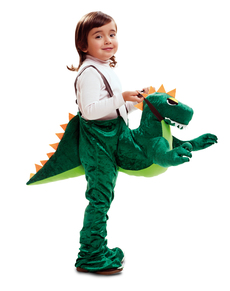 disfraz de dinosaurio ride on para nio