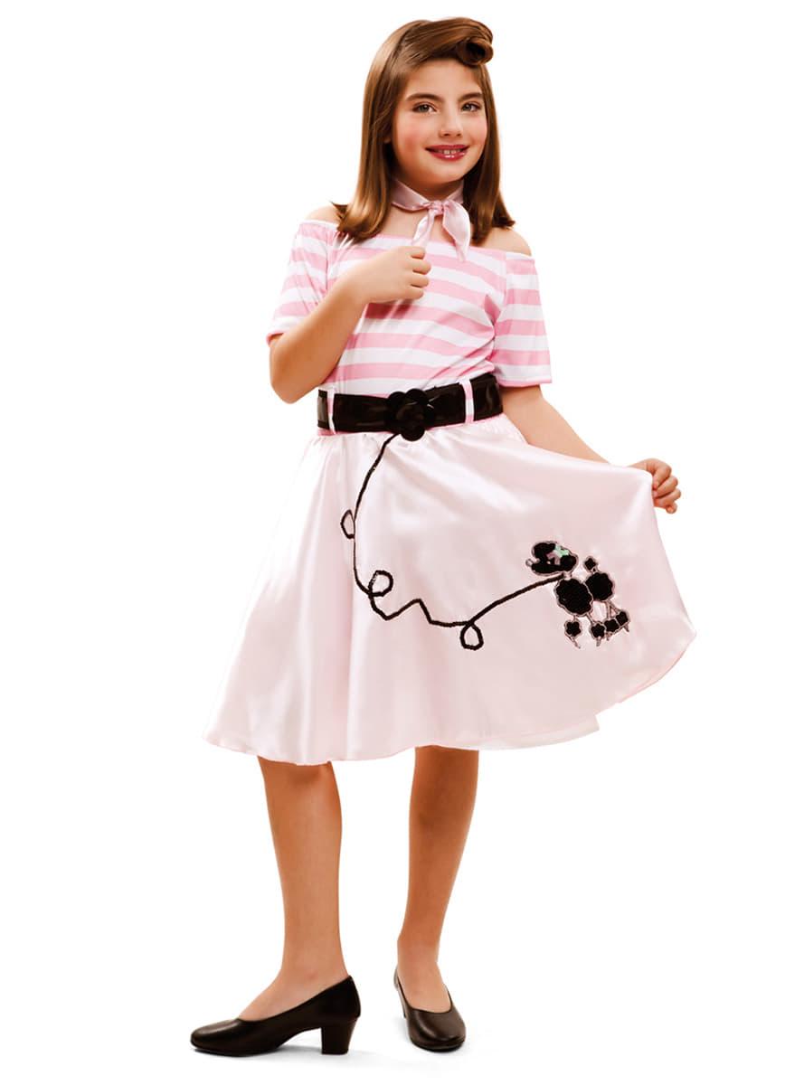 Disfraz de joven a la moda a os 50 para ni a comprar - Musica anos 50 americana ...