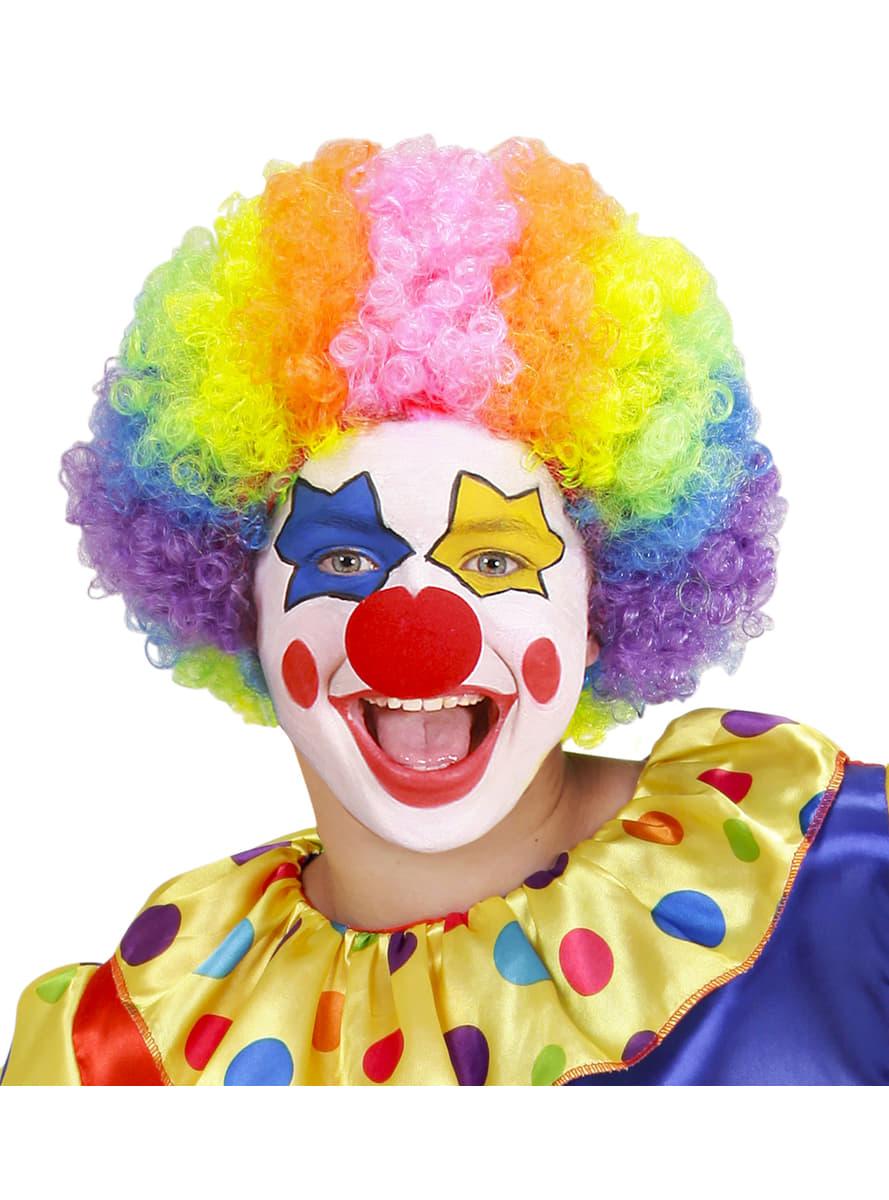 Parrucca Da Pagliaccio Multicolor Per Bambino Per Il Tuo