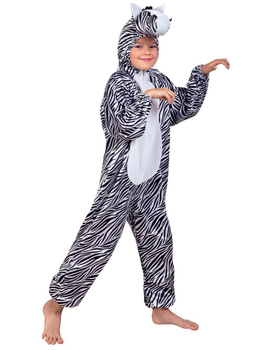 Disfraz de cebra de peluche para ni o funidelia for Disfraz de cebra