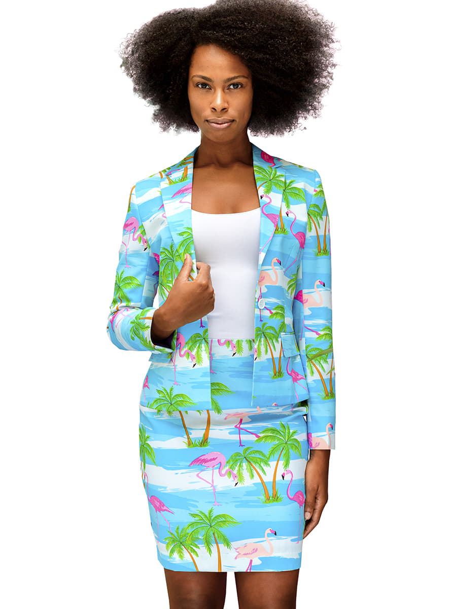 costume flamingirl opposuit pour femme acheter chez. Black Bedroom Furniture Sets. Home Design Ideas