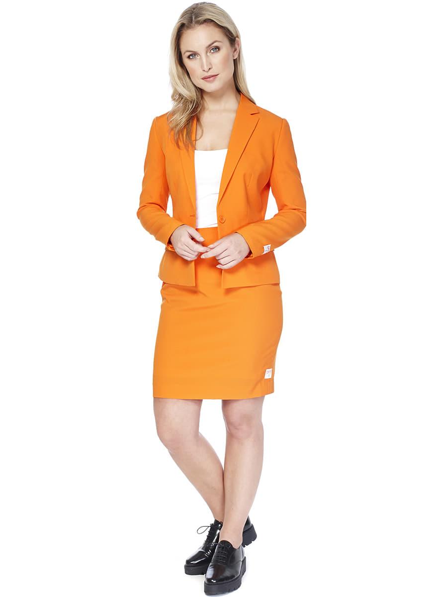 costume foxy orange opposuit pour femme funidelia. Black Bedroom Furniture Sets. Home Design Ideas